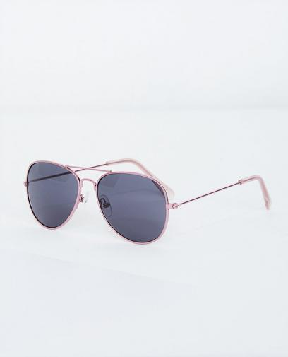 Rosa Pilotenbrille